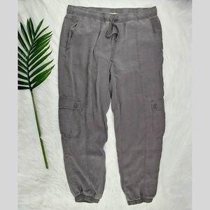 Anthro Cloth & Stone | tencel cargo joggers